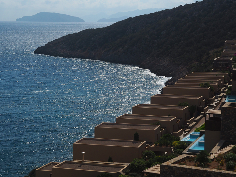5 stars hotels in Crete with private pools Daios Cove