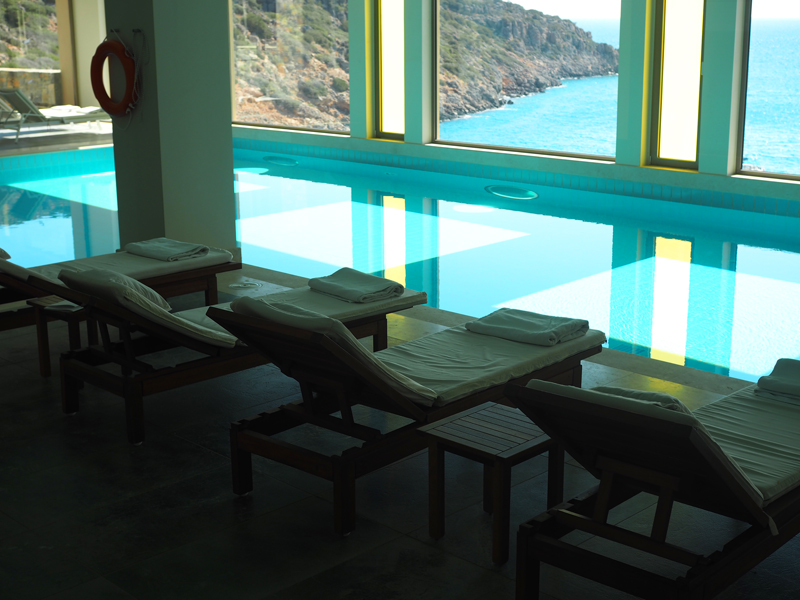 Best spa in Crete : The Daios Cove spa by Anne Simonin