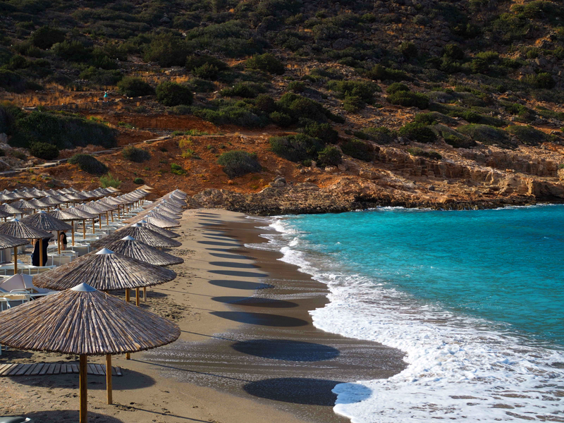 Daios Cove beach 5 stars hotel Kreta Greece