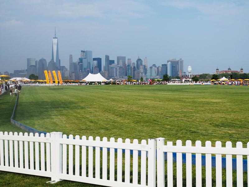 Veuve Clicquot Polo classic New York skyline