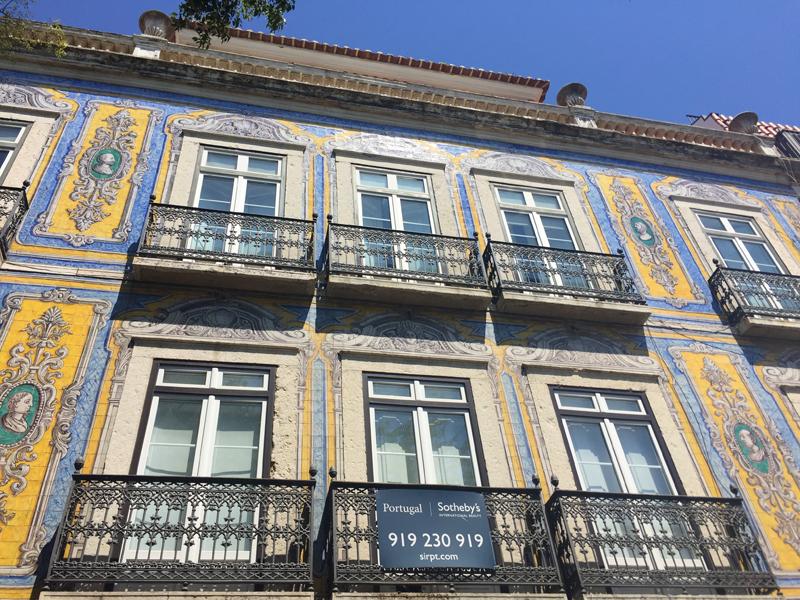 Lisbon building wall