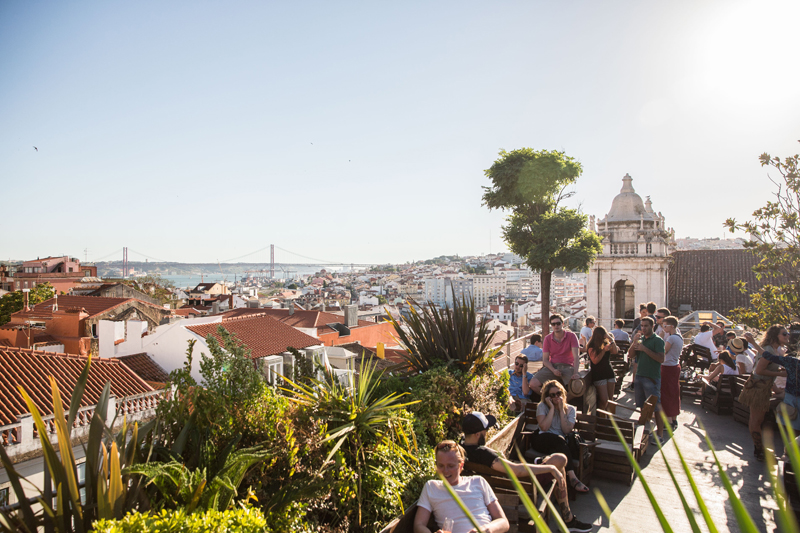 Weekend in Lisbon - things to do in Lisbon going out Park rooftop bar