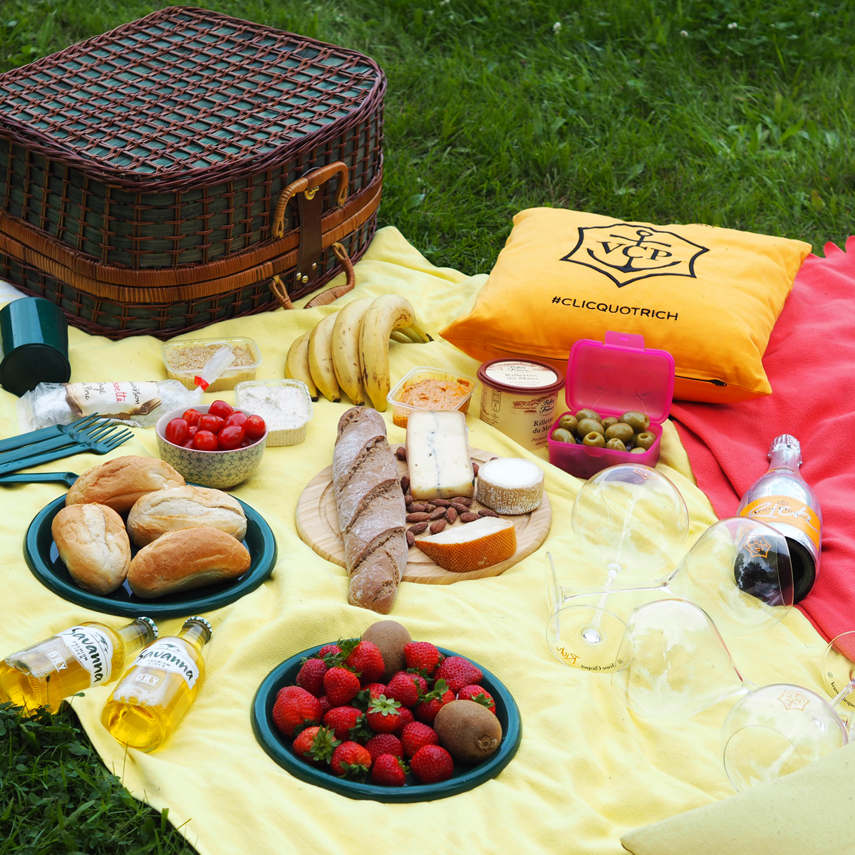 Paypal.me – A picnic in Berlin Wannsee