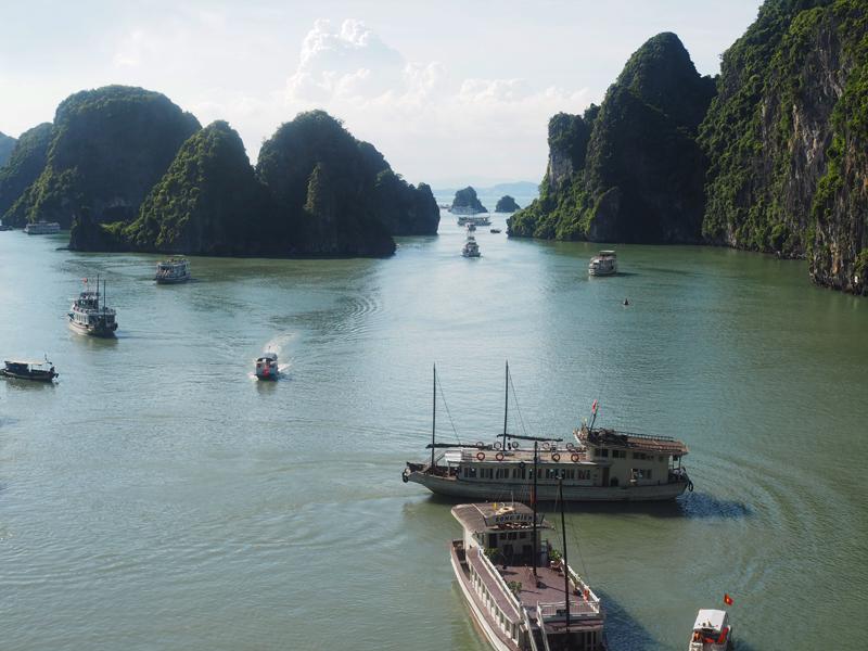 Vietnam's amazing karst landscapes Ha Long Bay