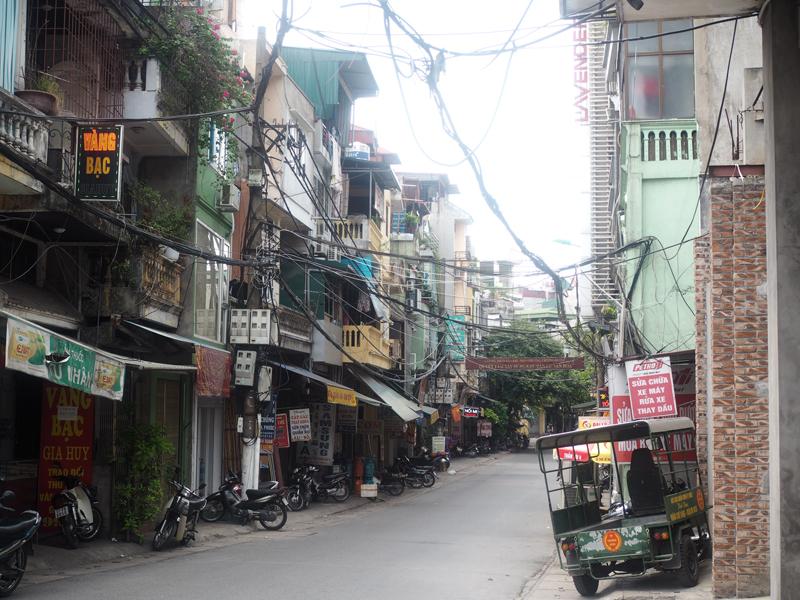 Pictures Hanoi old quarter street street