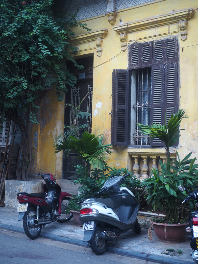 Pictures Hanoi old quarter cute house