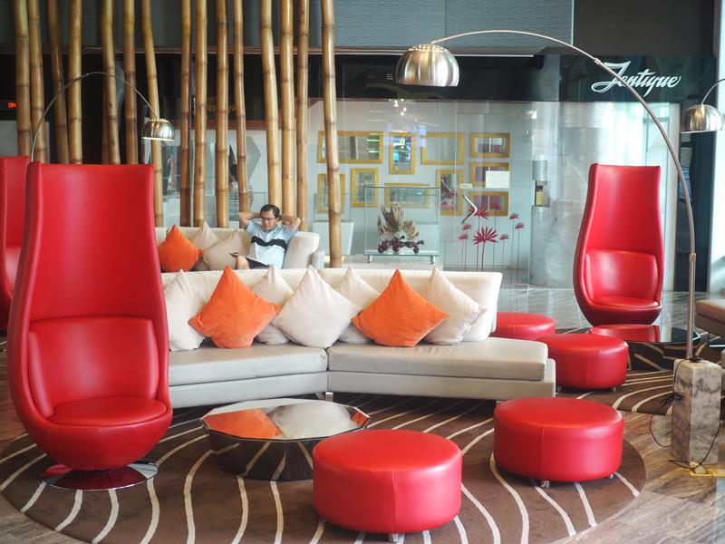 Lobby at Le Meridien Saigon