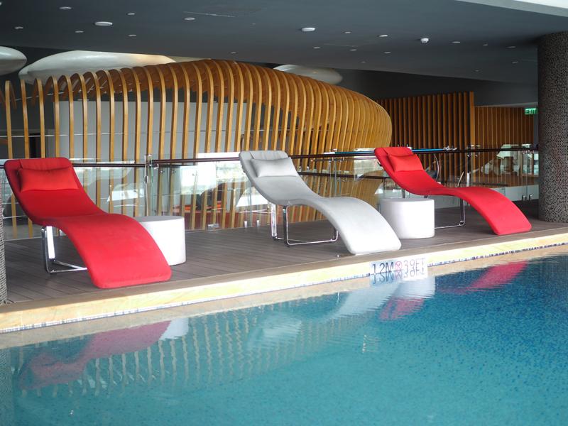 pool at Le Merdien Saigon