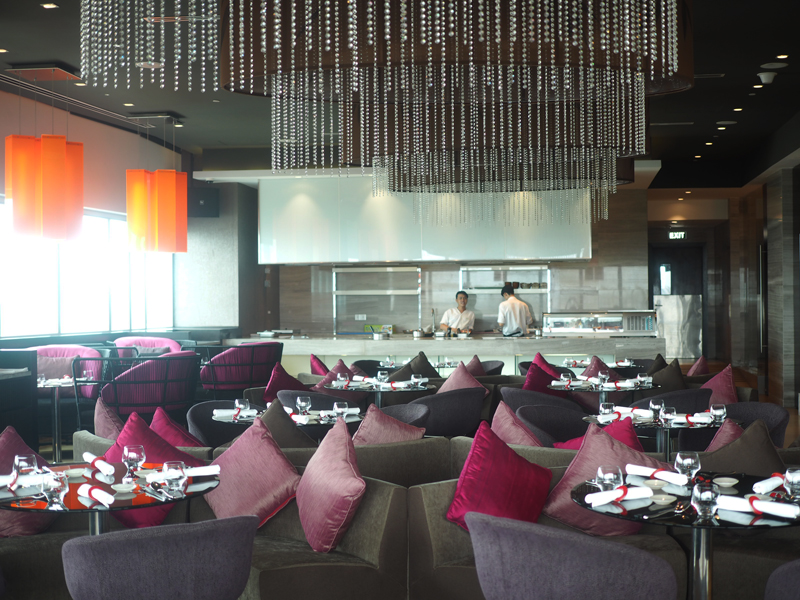 Restaurant Bamboo chic at Le Meridien Saigon
