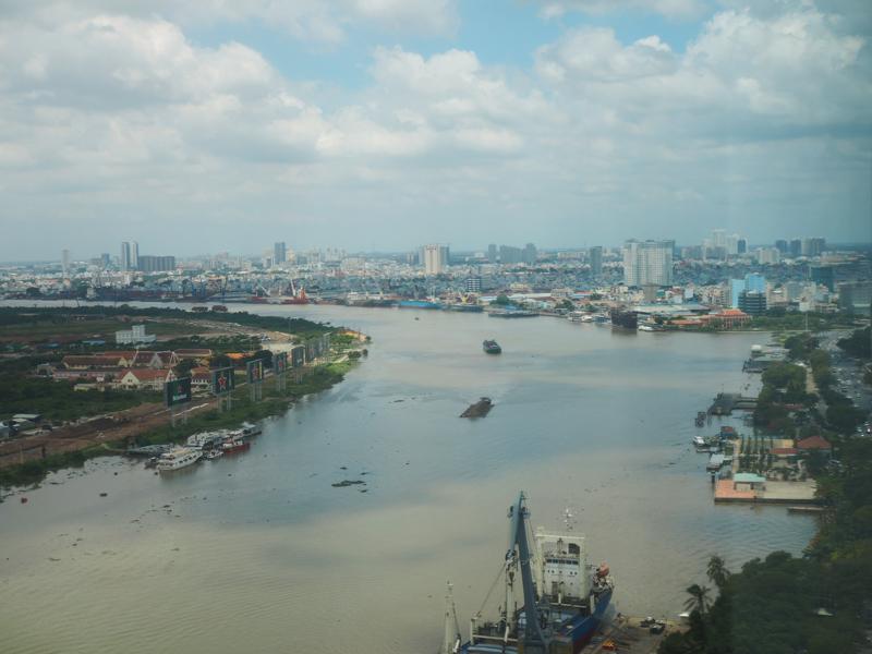 Riverside view at Le Meridien Saigon