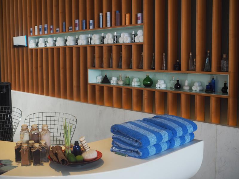 Spa reception at Le Meridien Saigon
