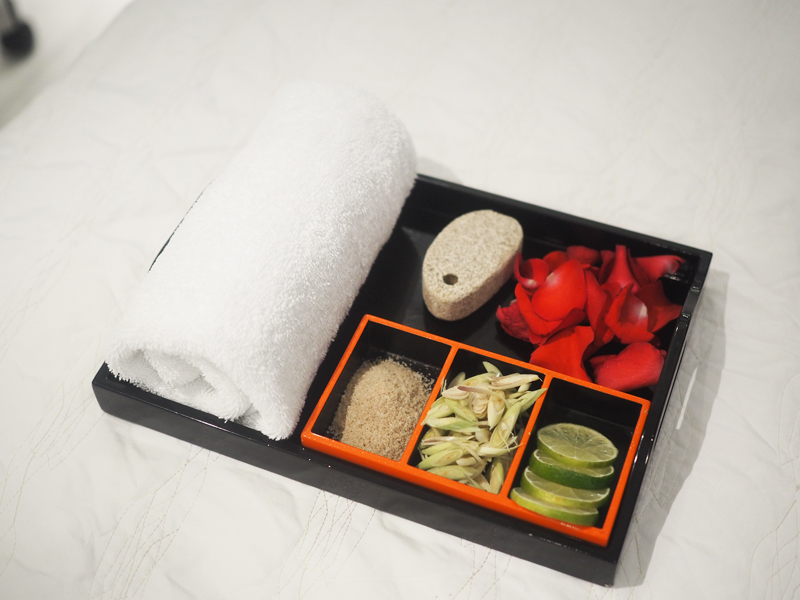 Spa treatment at Le Meridien Saigon