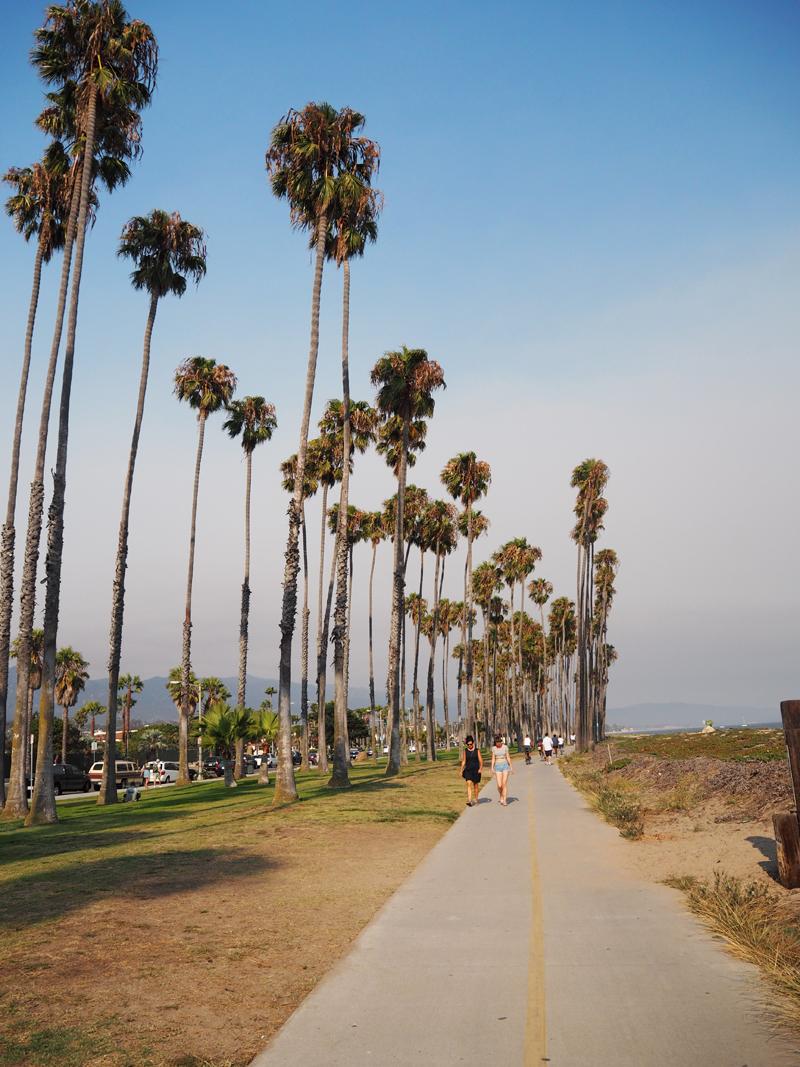 Bike tour in Santa Barbara California