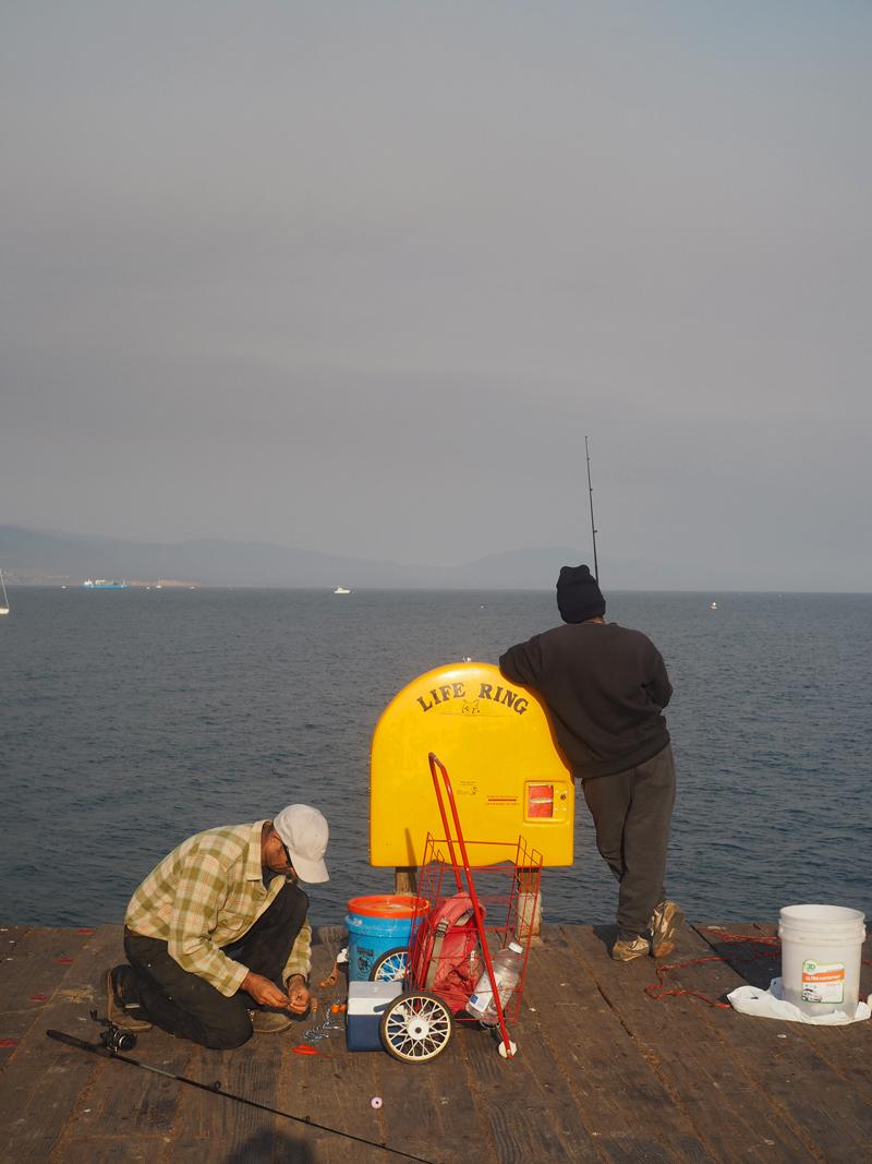 fishermen in Santa Barbara California