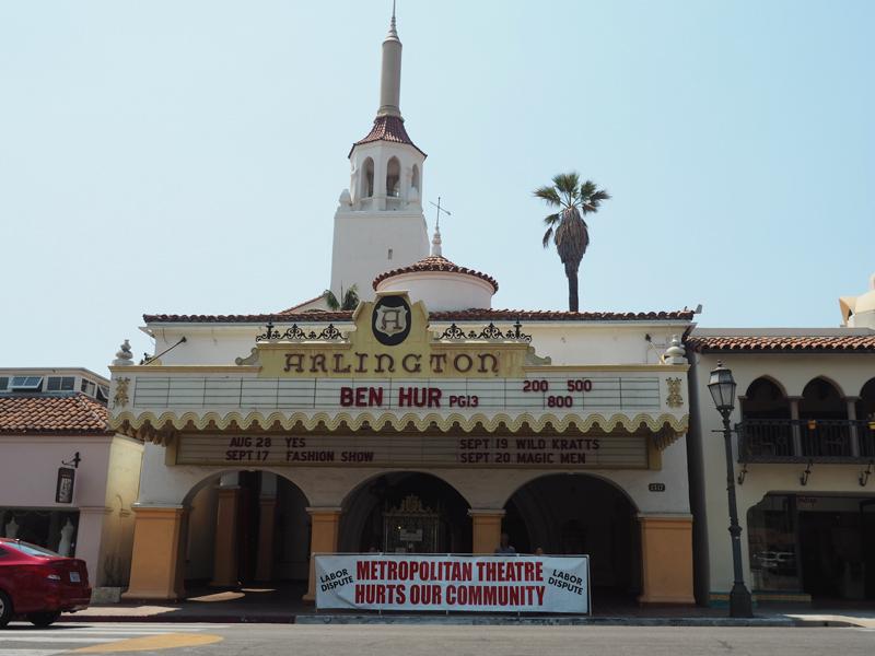 old building in Santa Barbara California