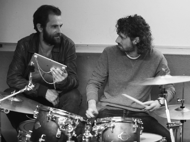 Stefan Gbureck The Drummer and Nico from Die Wilde Jagd Huawei MediaPad M2 Project
