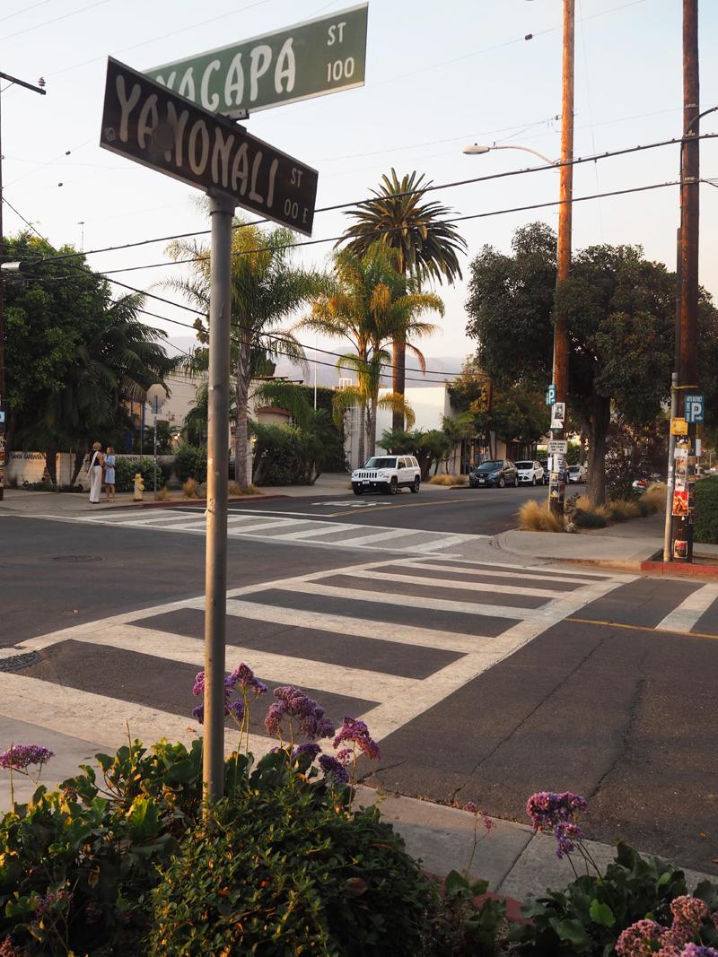 Streets in Santa Barbara