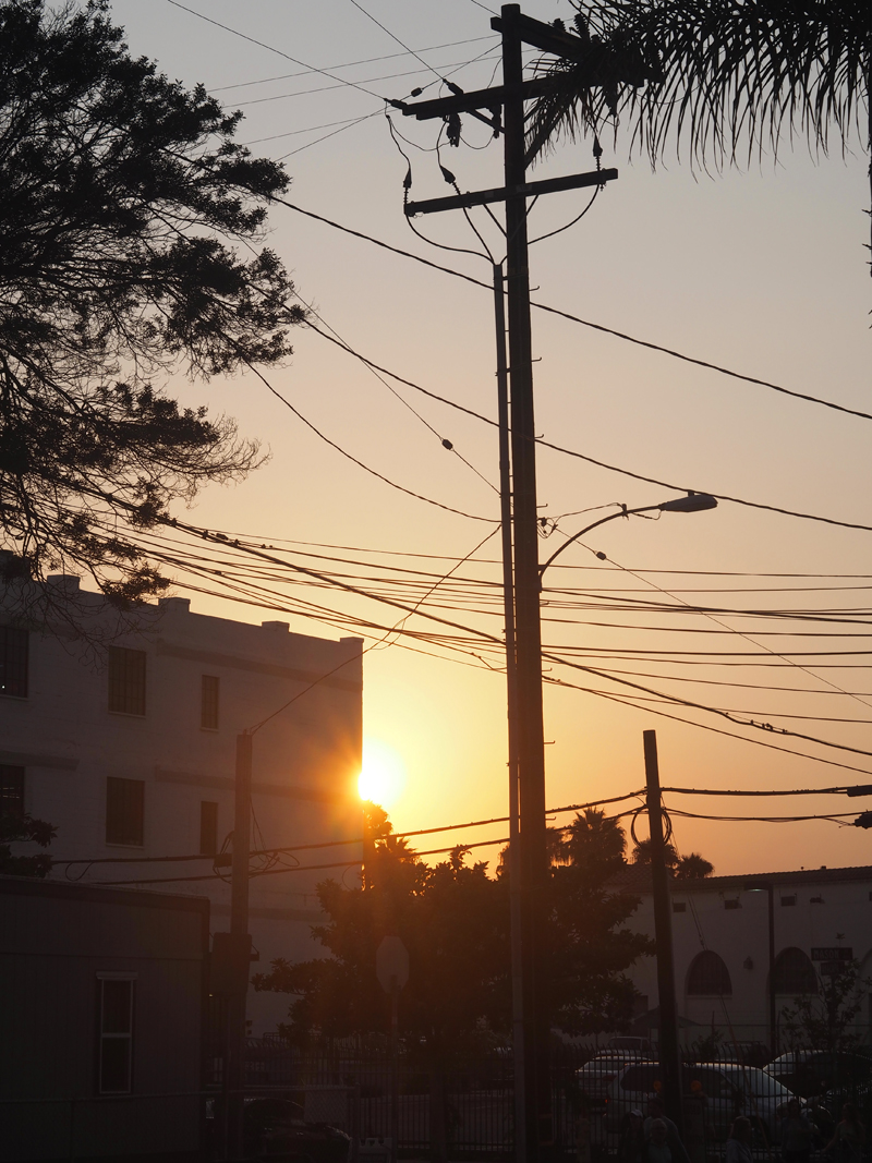 picture of Santa Barbara sunset