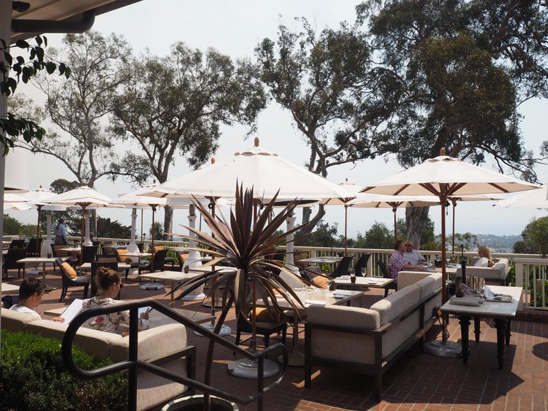 terasse restaurant lifestyle blogger Bedroom at Belmond El Encanto in Santa Barbara