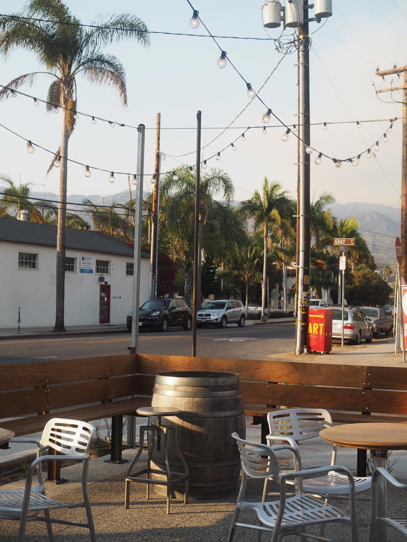 urban wine trail bar in Santa Barbara