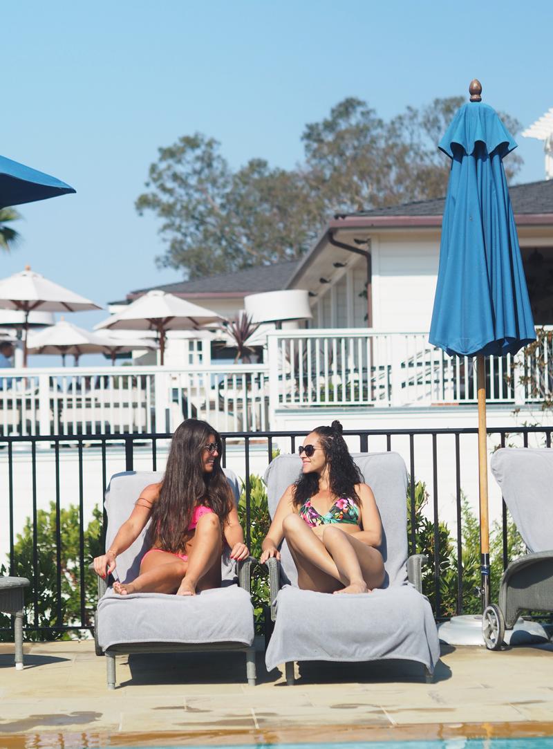 bloggers travel lifestyle luxury at Belmond El Encanto in Santa Barbara