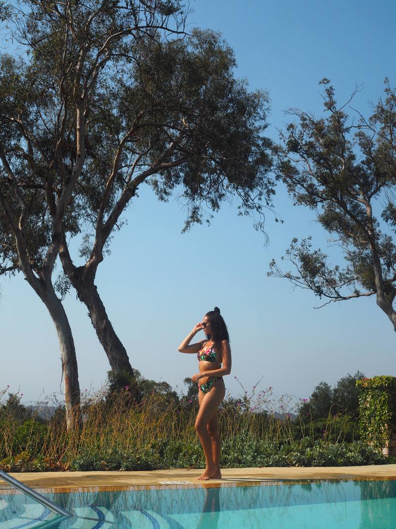 luxury blogger lifestyle blogger Bedroom at Belmond El Encanto in Santa Barbara