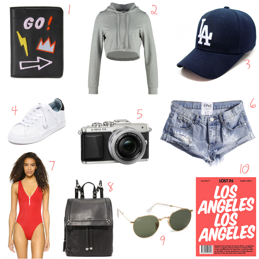 Packing list – what to pack for California
