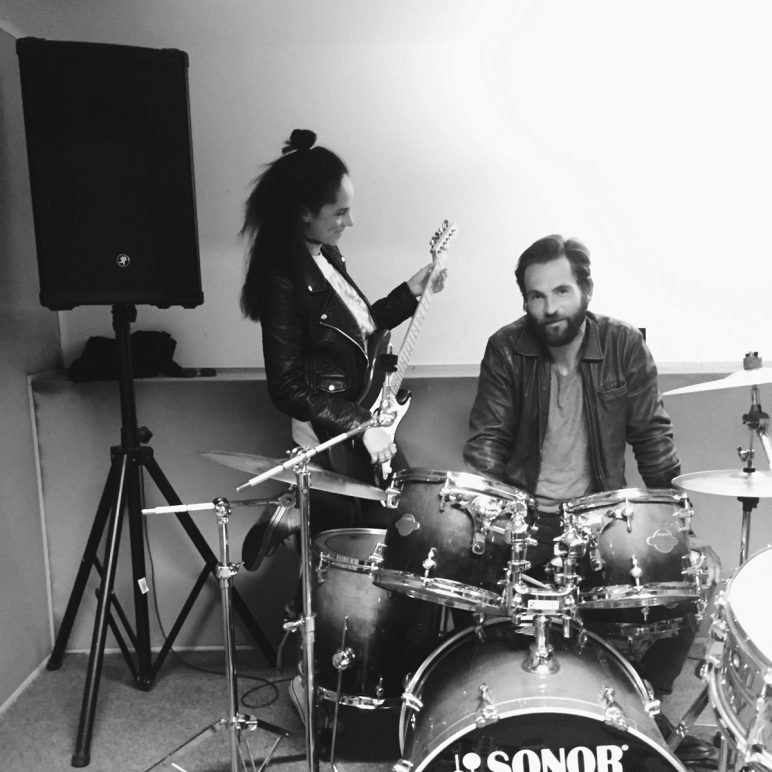 Meeting with The Drummer