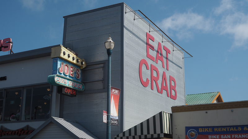 A day in San Francisco eat crab