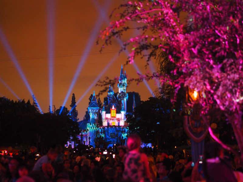 Disneyland and California adventure in one day Night parade