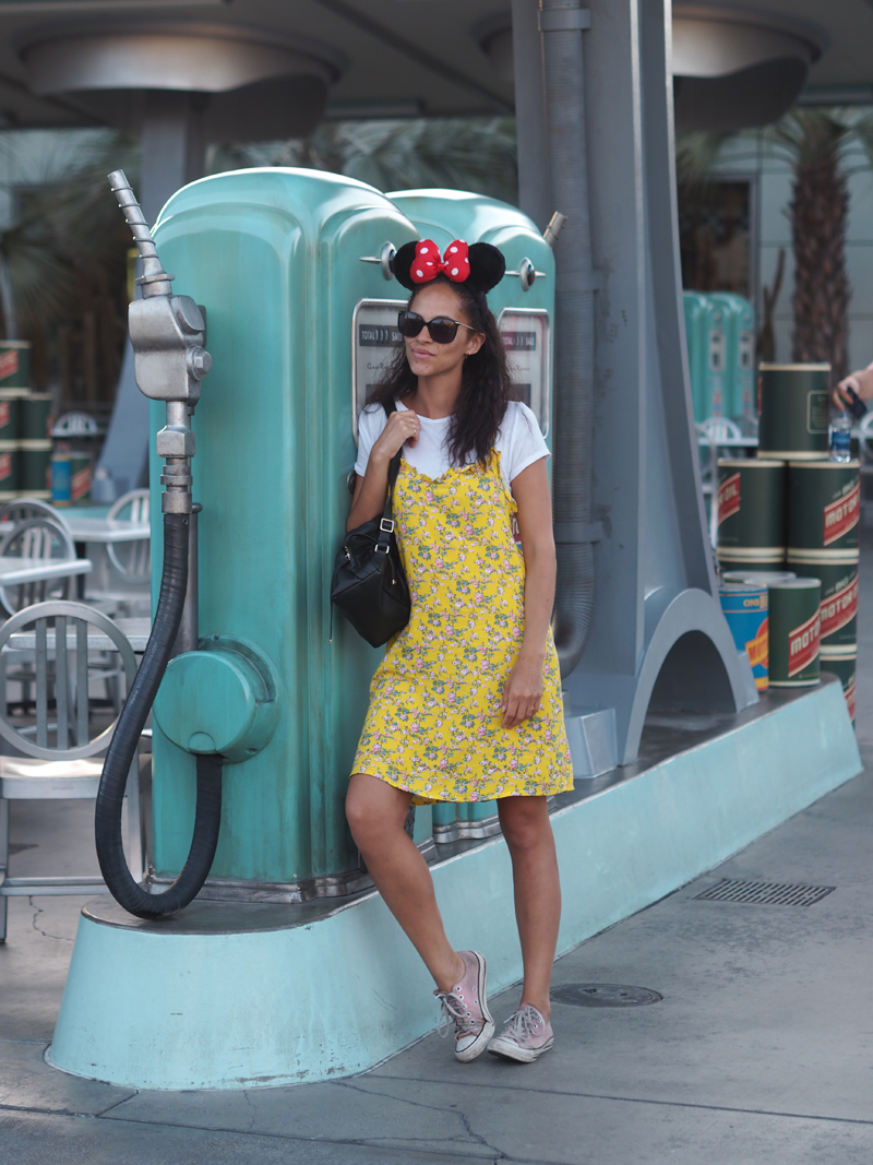 Disneyland and California adventure in one day cars land