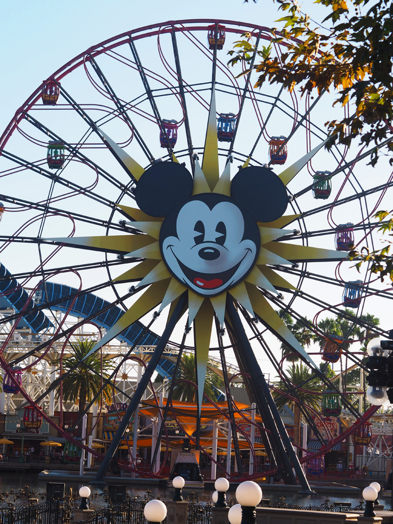 Disneyland California parade big wheel mickey