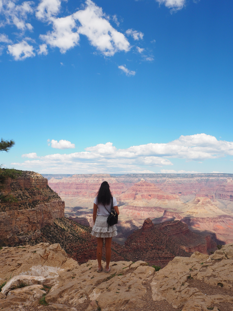 Travel blogger California road trip - In Arizona to see the grand canyon south rim