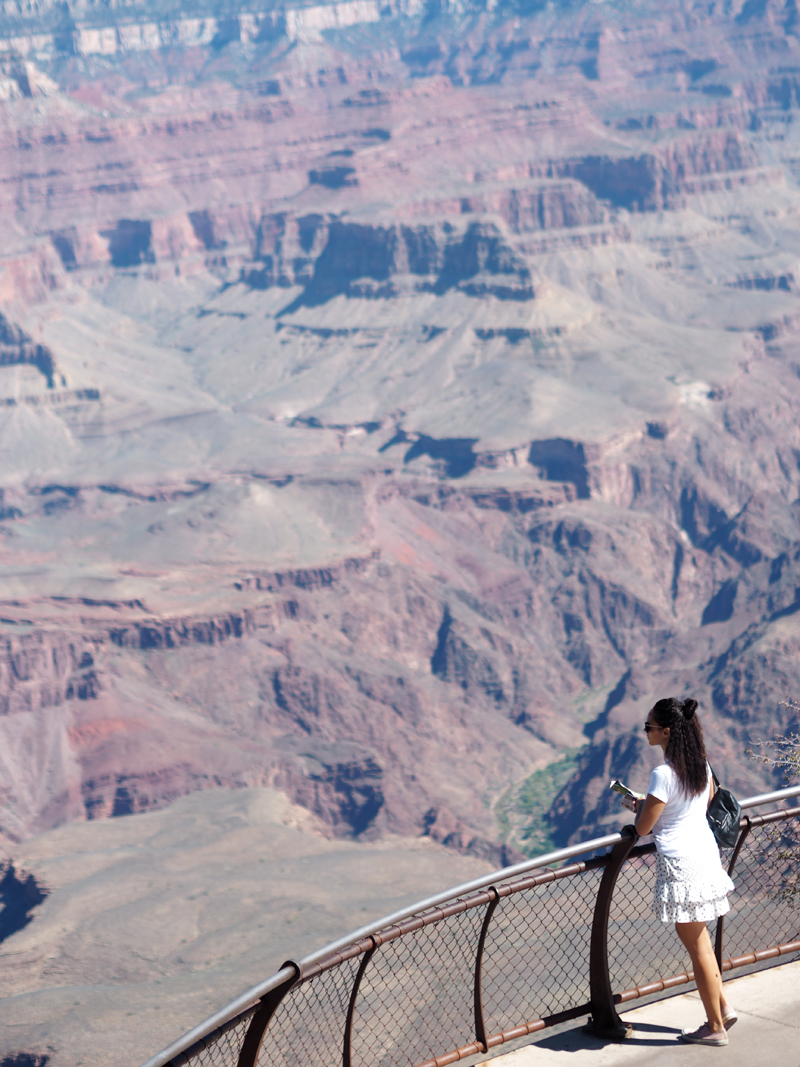 What to see in Grand Canyon in one day - South Rim Mather point