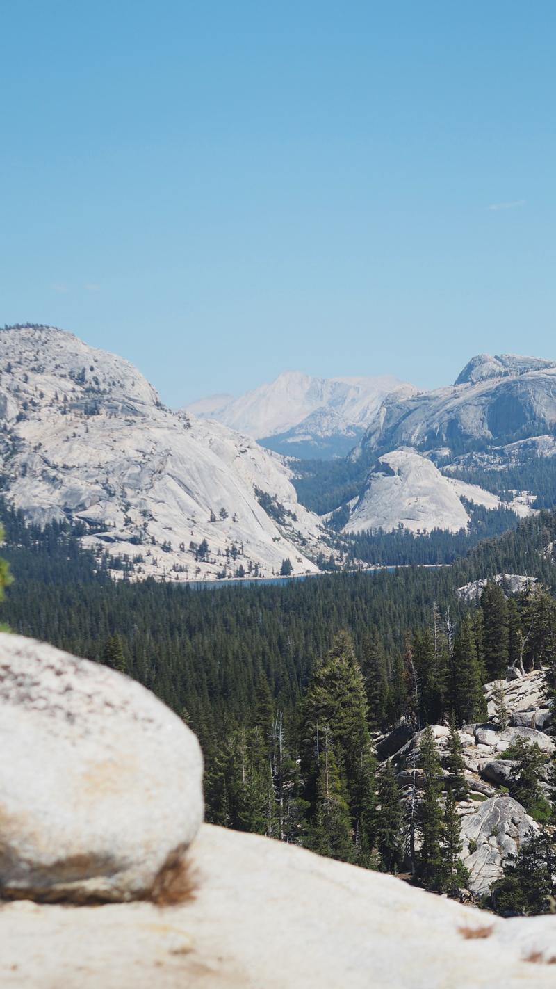 Olmstead point Yosemite California road trip