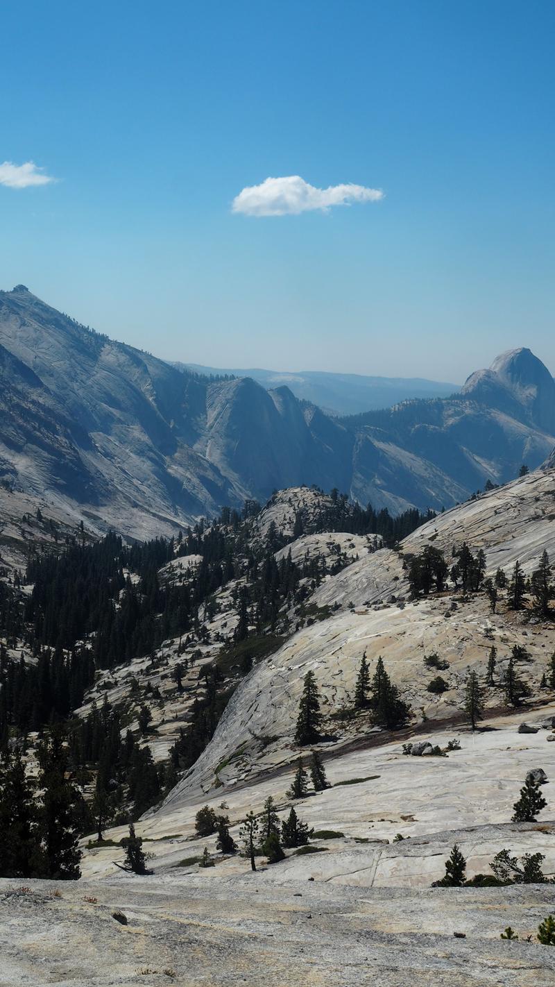 Olmstead point Yosemite national park California road trip