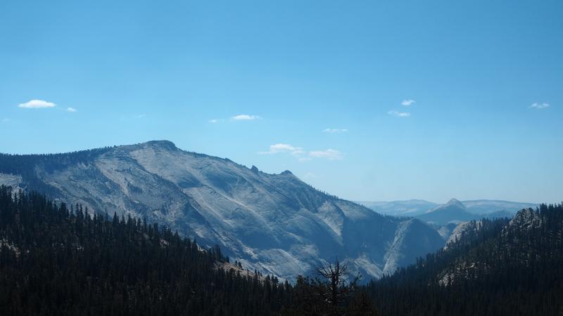 view Olmstead point Yosemite California road trip