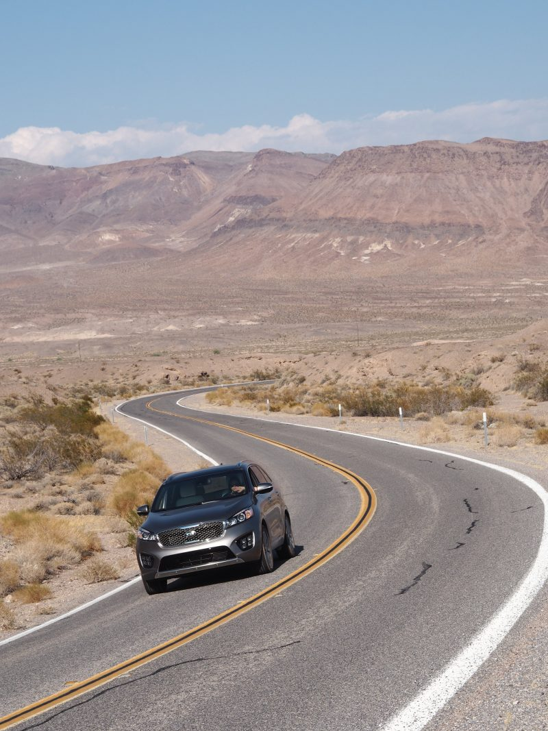 Death Valley to Las Vegas - driving through Death Valley national park