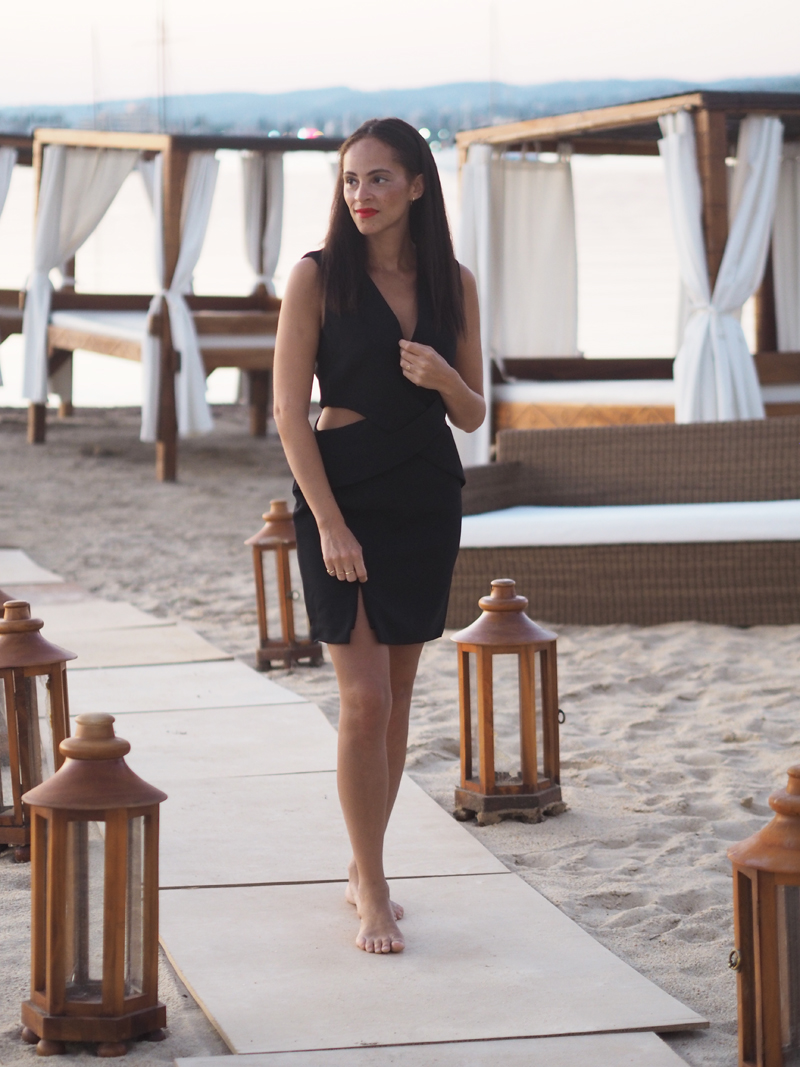 german fashion blogger at the Olympus PEN E-PL8 camera launch at Nikki Beach Porto Heli #penpartygreece