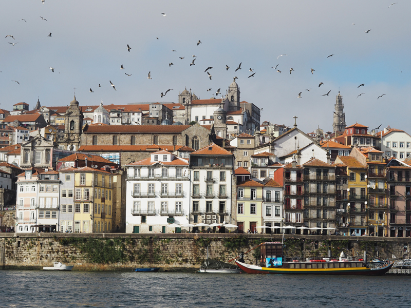 View on Ribeira Square