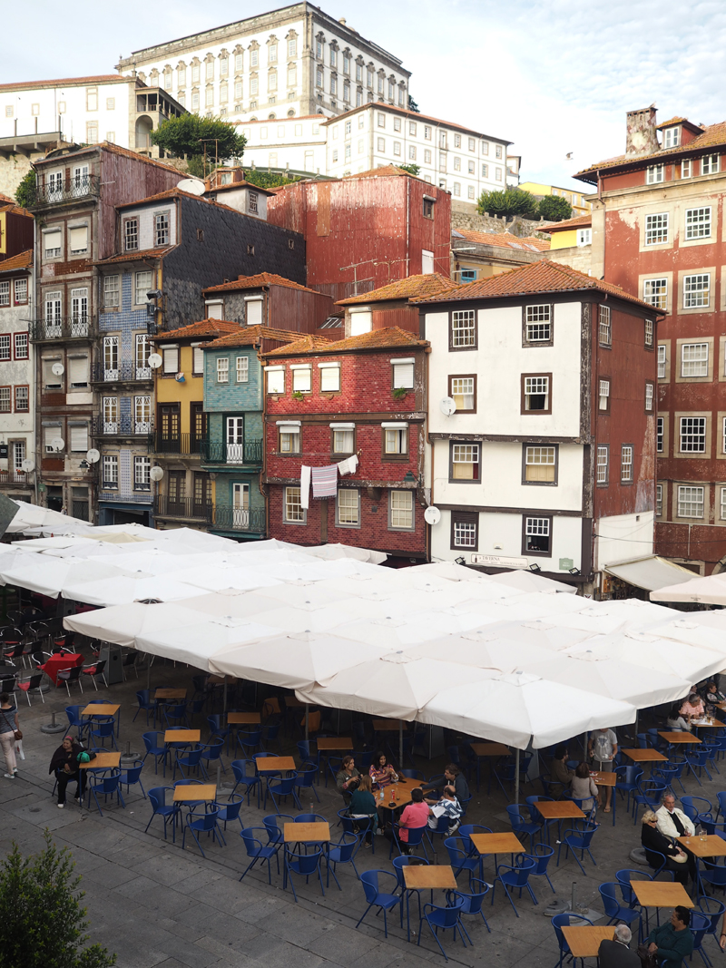 A weekend in Porto | Sightseeing must see in Porto Ribeira square