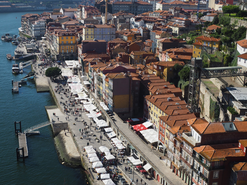 A weekend in Porto | Sightseeing must see in Porto Dom Luis bridge Porto