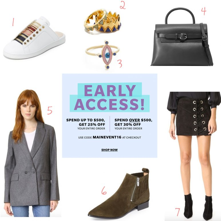 Shopbop sale – Up to 30% OFF