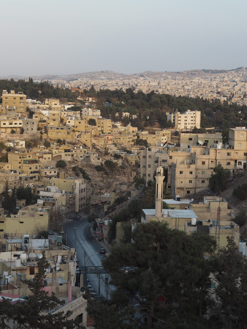 Traveling to Jordan one day in Amman