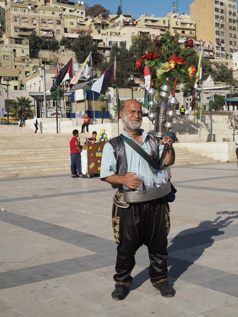Traveling to Jordan people Amman