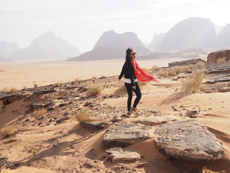 travel blogger Wadi Rum Jordan