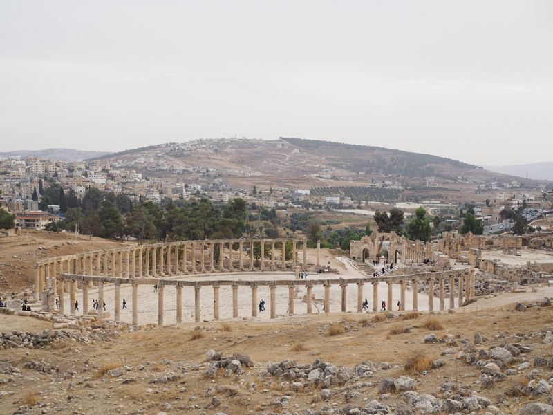 Jordan itinerary 8 days - Jordan places to visit - Jerash ruins roman city
