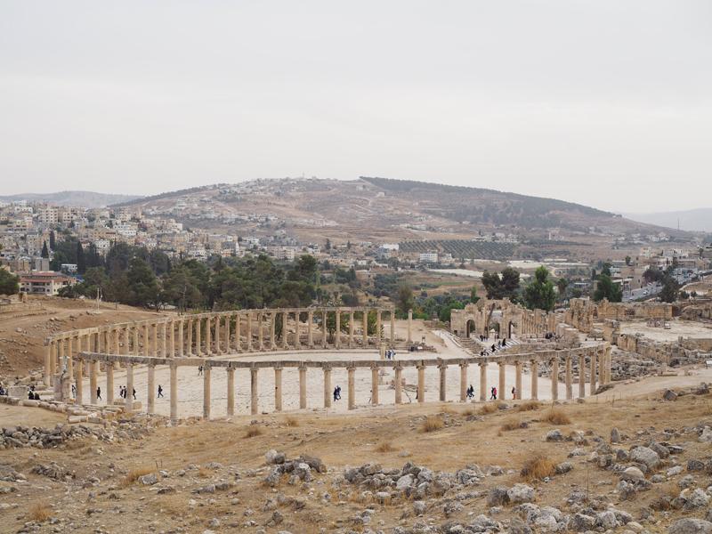 roman city Jerash Jordan