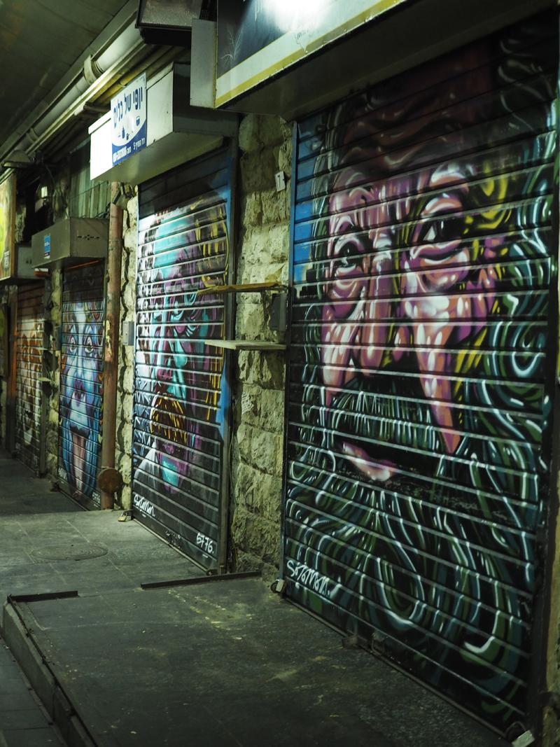 The Shuk Mahane Yehuda Market Jerusalem