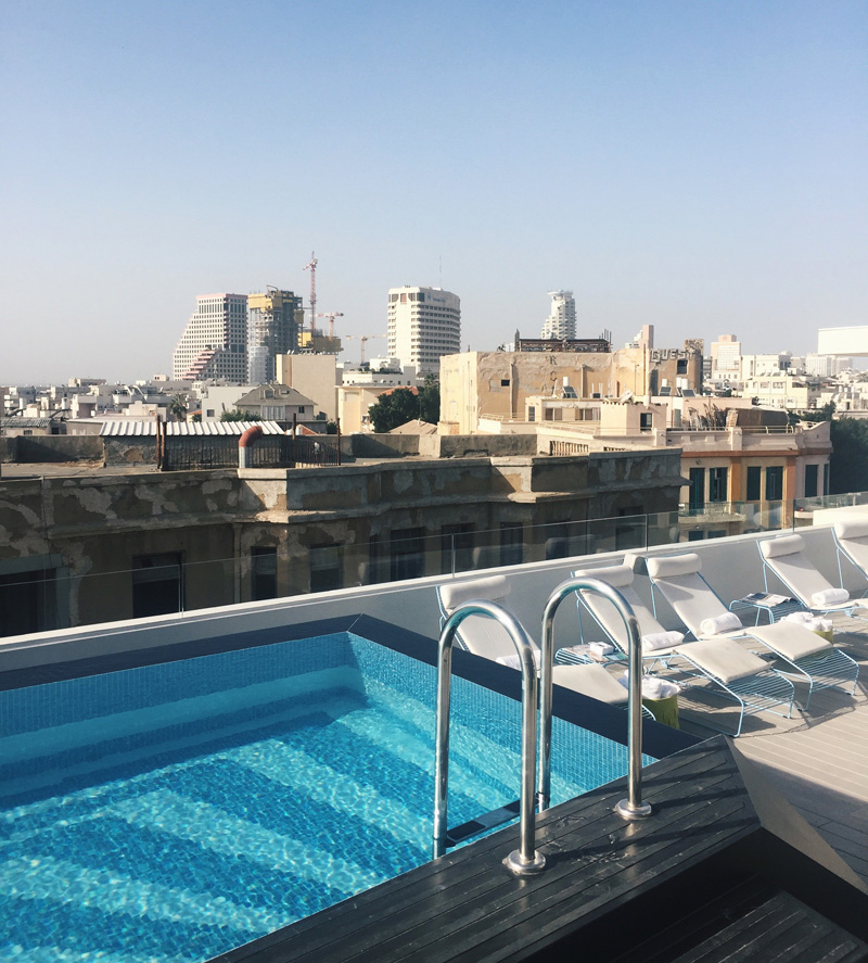 Review the poli house tel aviv a design hotel with a for Design hotel tel aviv